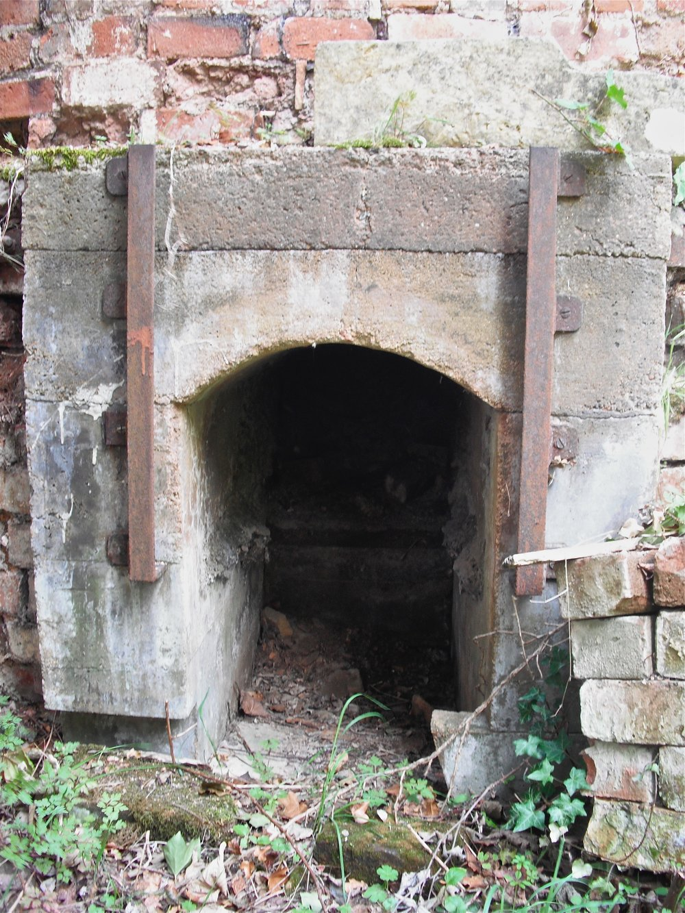 One of the fireboxes. Image courtesy of Dan Finnegan.
