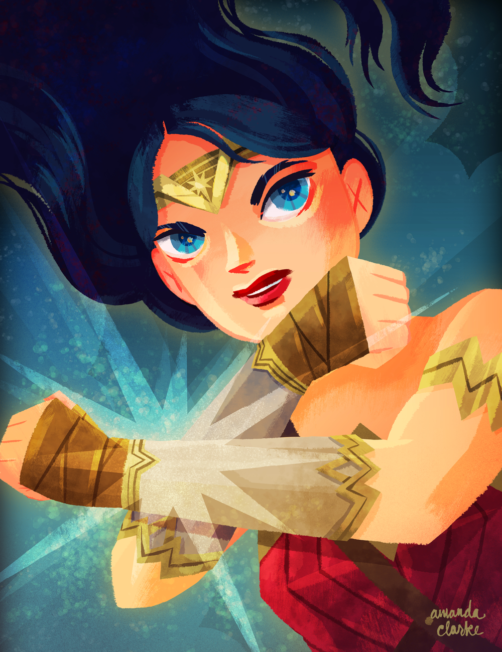 """""""Diana""""   11 x 14"""" print available in the shop!"""