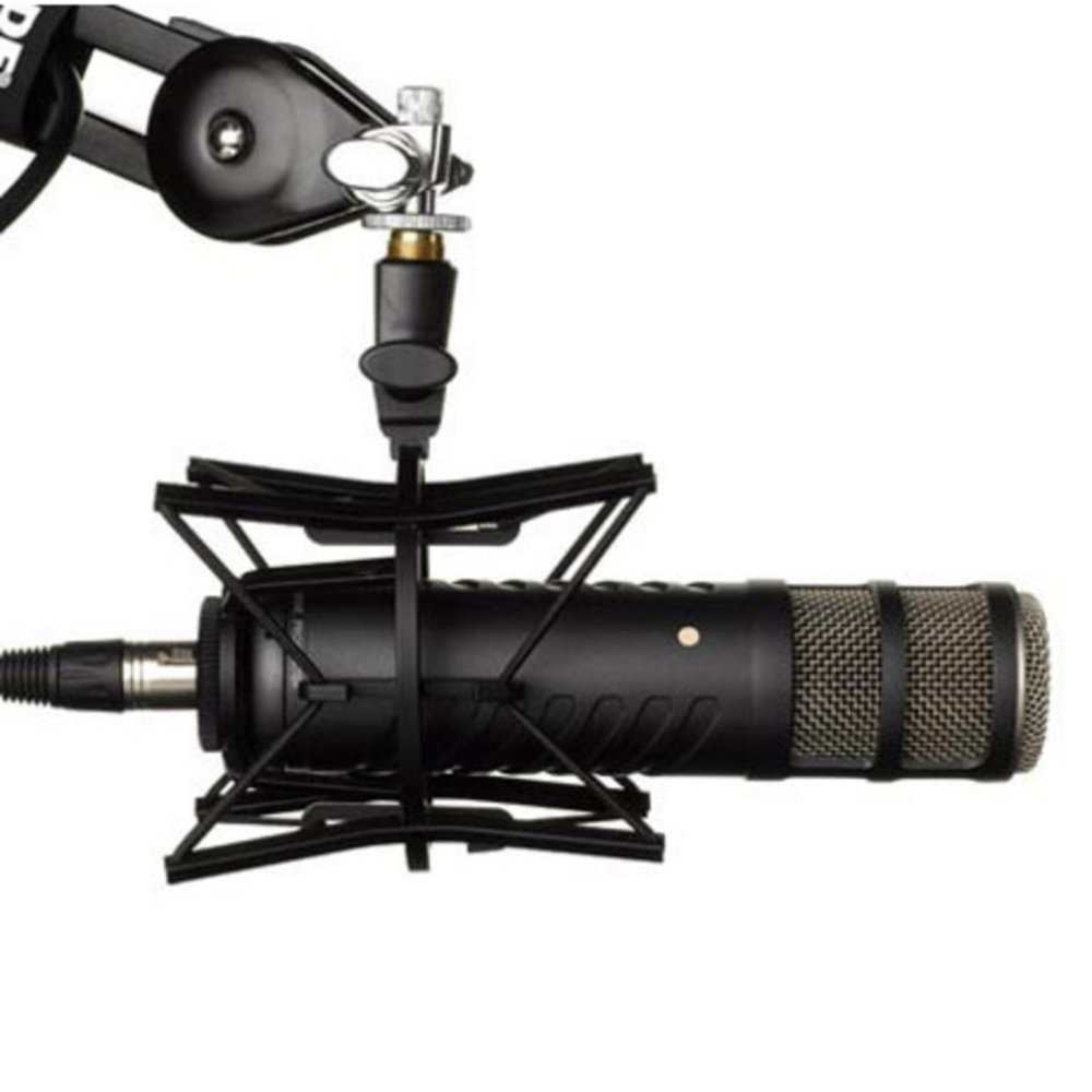 Procaster Mic, Shock Mount, and Swivel Arm Mount