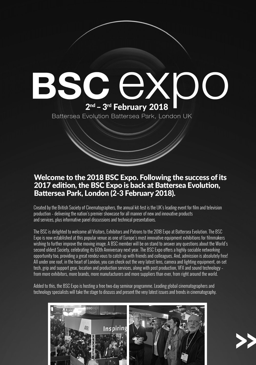 British Society of Cinematographers Expo