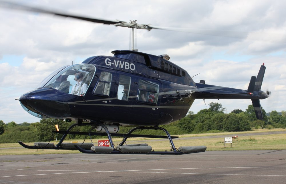 Single engine executive helicopter charter aircraft 7 seats