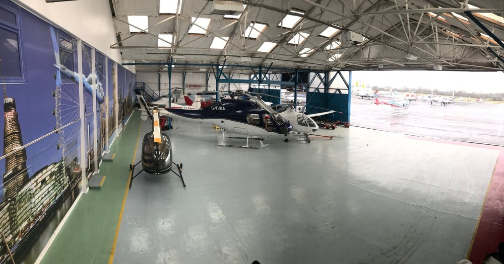 24 Hour hangarage space at London Elstree aerodrome