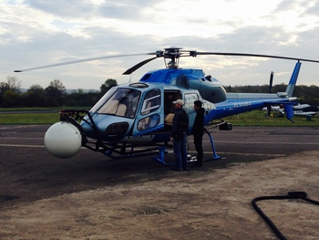 Aerial Filming in an AS355 Twin Squirrel Helicopter