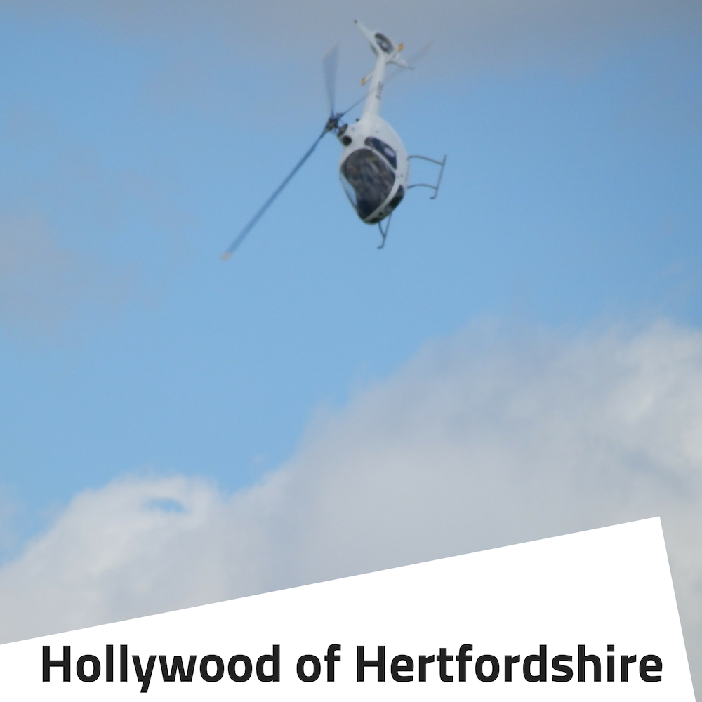 Harry potter world tour and helicopter flight hertfordshire