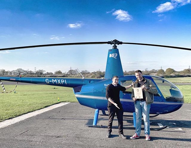 Another #SuccessStory ❗️ We are very proud of Petr who is the latest Private Pilot in the UK 🚁 Learning to fly a helicopter is challenging, but learning to fly in your second language is even more challenging...so congratulations! ✋ #ThisCouldBeYou