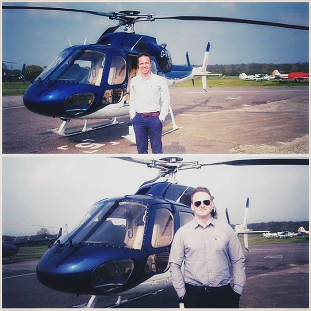 Well done Joe and Callum for passing your AS355 type rating tests this week! 👏 Now onto the IR 👍🚁☁️