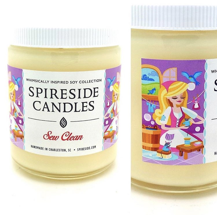 Credit to Spireside Candles on Instagram