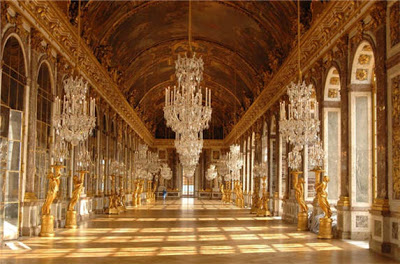 (Hallways of Louvre Palace)
