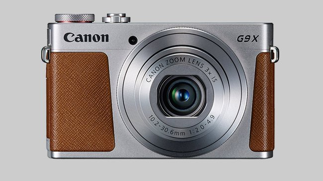 An image of the Canon Powershot G9X Mark II which Cosmos Companions have reviewed for The Best Travel Cameras of 2018
