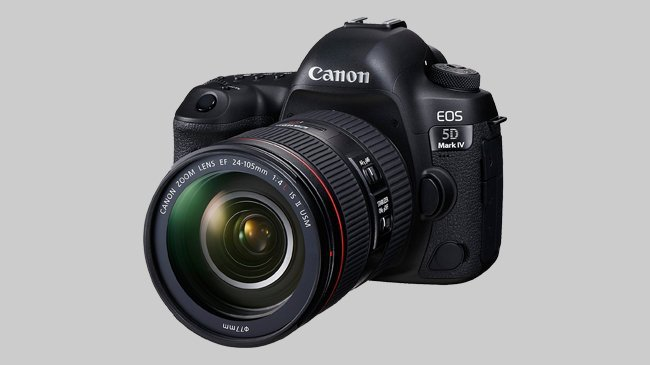 An image of the Canon EOS 5D Mark IV which Cosmos Companions have reviewed for The Best Travel Cameras of 2018.