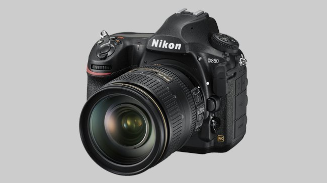 An image of the Nikon D850 FX which Cosmos Companions have reviewed for The Best Travel Cameras of 2018.
