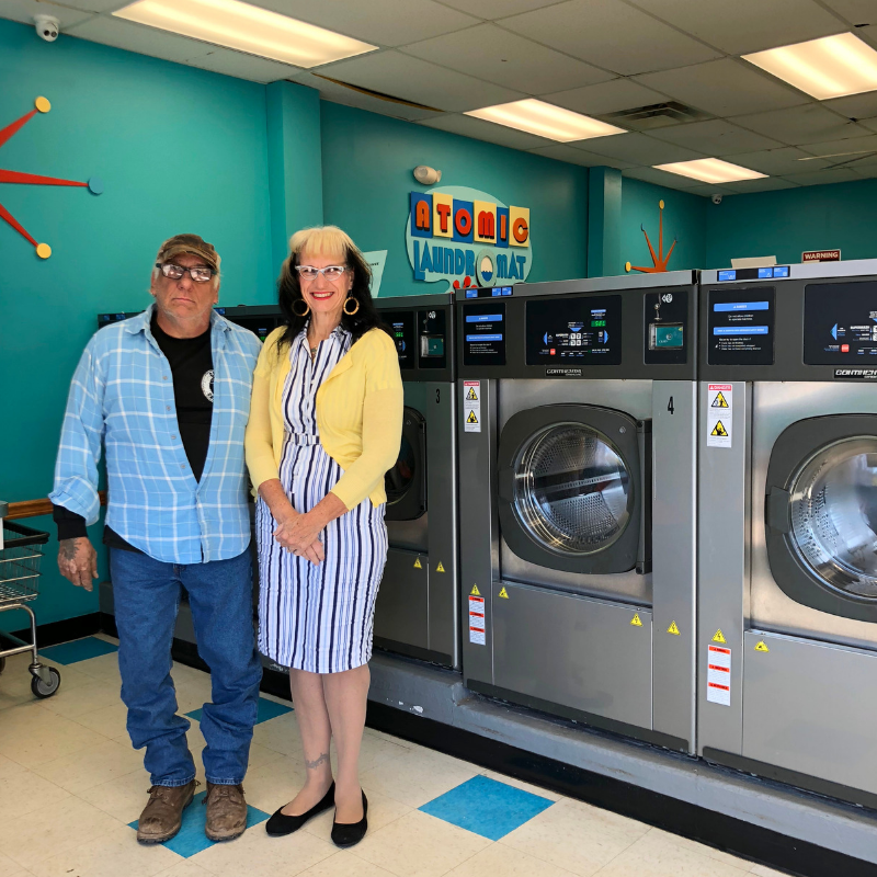 Atomic Laundromat in Narrowsburg, NY