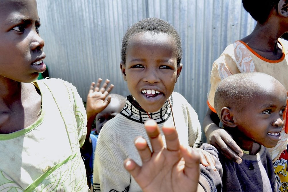Joyce in Maai Mahiu, Kenya, 2012