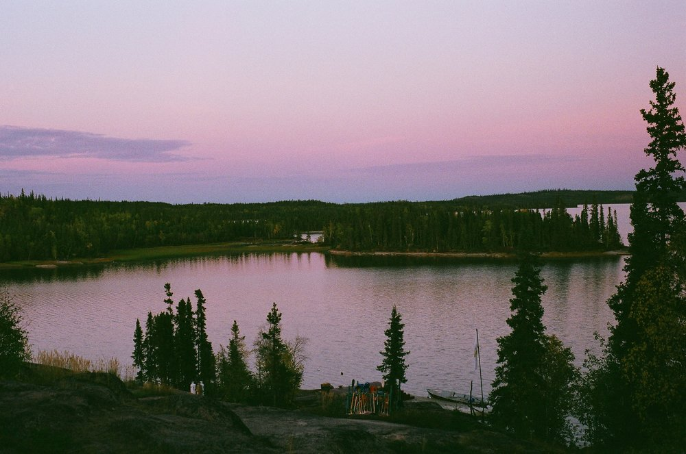 Blachford Lake, Yellowknife, Canada, 2016