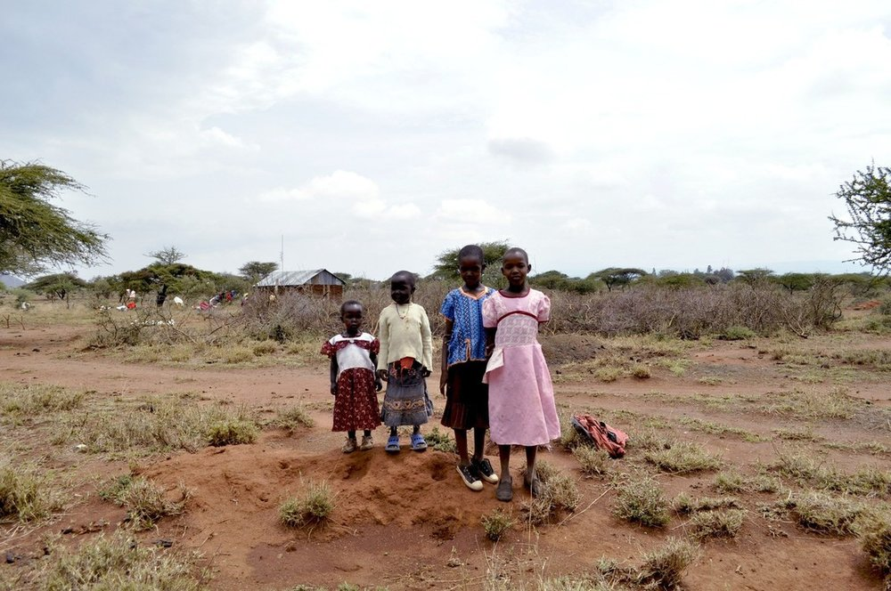 Children at Masai Village, Kenya, 2012