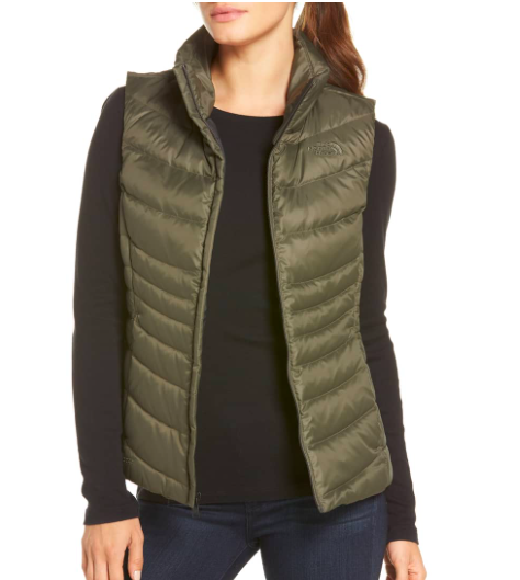 NORTH FACE VEST - PART OF THE SALE AT NORDSTROM, LOVE THIS COLOR FOR THE TRAILS AND GOING TO THE GYM
