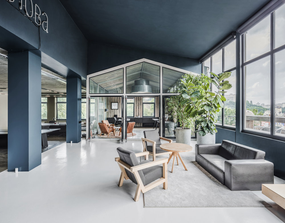 BANDA  / creative agency, 780 sq. m, Kyiv