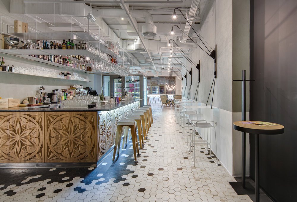 THE CAKE  / cafe confectionery, 150 sq. m, Kyiv  The Restaurant & Bar Design Awards  Award:  Shortlisted. Top 10  | Year: 2015