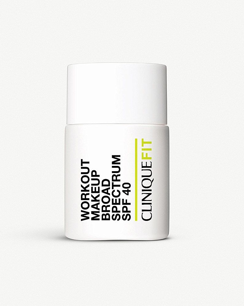 Foundation - I used to work at Clinique so I know a lot about their products, but for realz, this foundation is legit. It's super light like Meghan's but half the price.CliniqueFIT™ Workout Makeup Broad Spectrum SPF 40