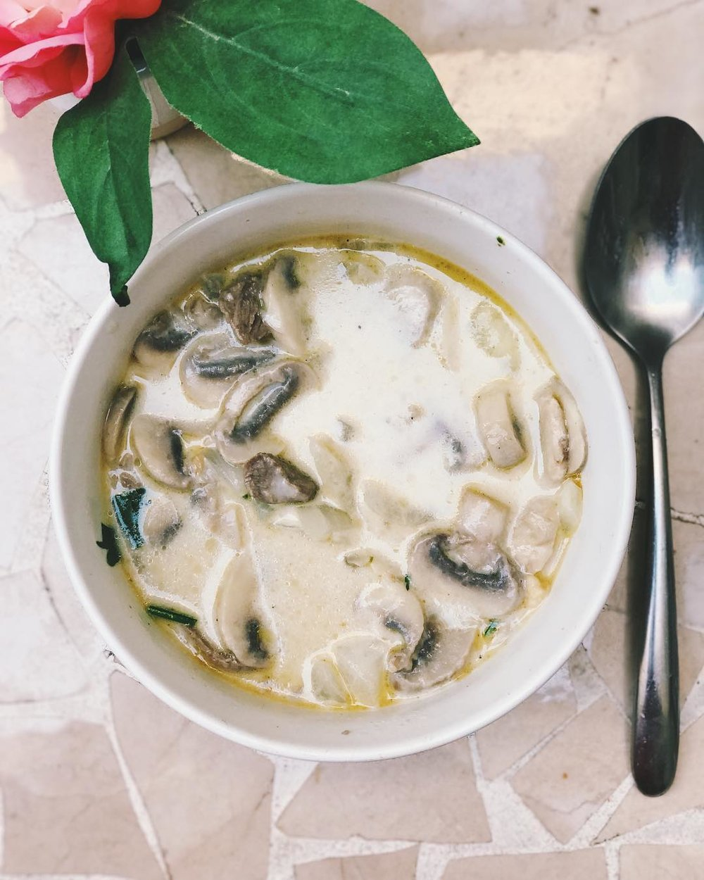 Delish Low Carb Beef Stroganoff -