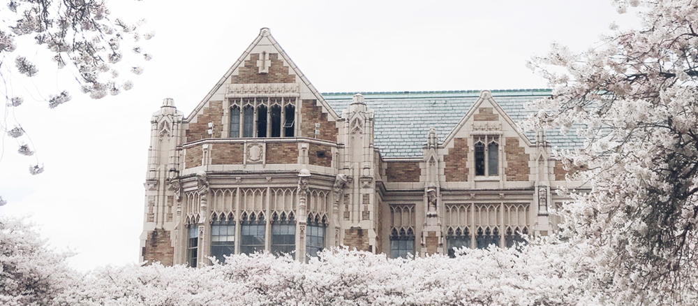 University of Washington. A new site for the Department of Environmental Health and Safety (Photo by Ashley Whitlatch)