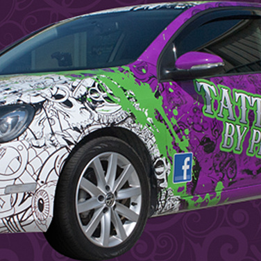 Tattooz by Pete   Jetta Vehicle Wrap