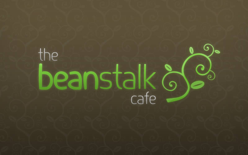The Beanstalk Cafe Logo