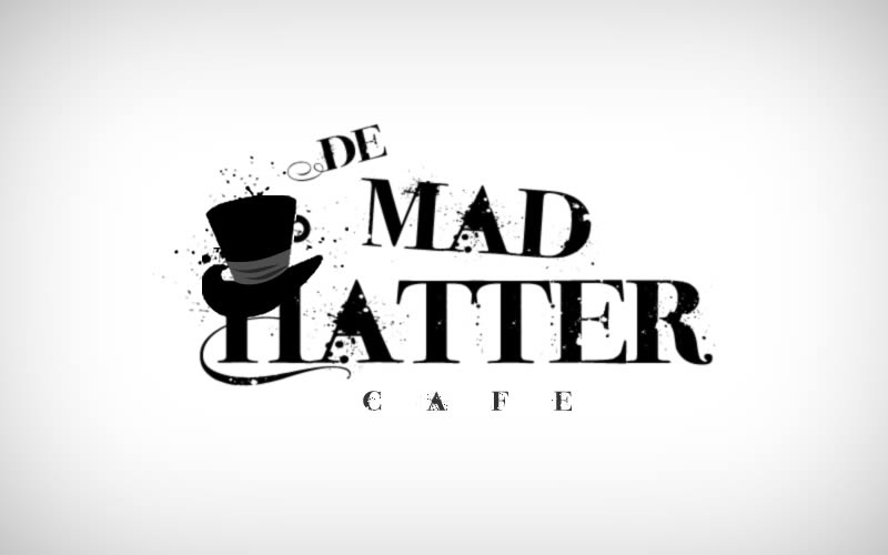 De Mad Hatter Cafe Logo