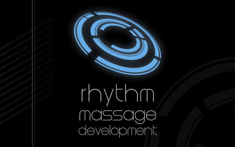 Rhythm Massage Development Logo