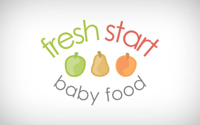 Fresh Start Baby Food Logo