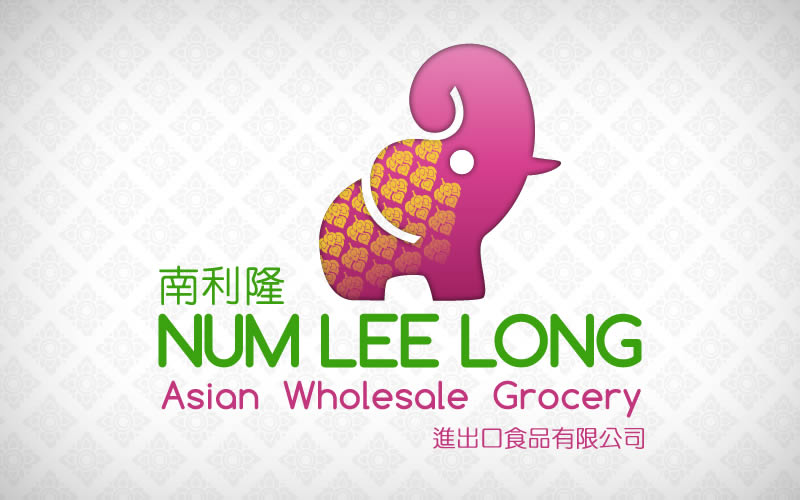 Num Lee Long Asian Grocery Logo