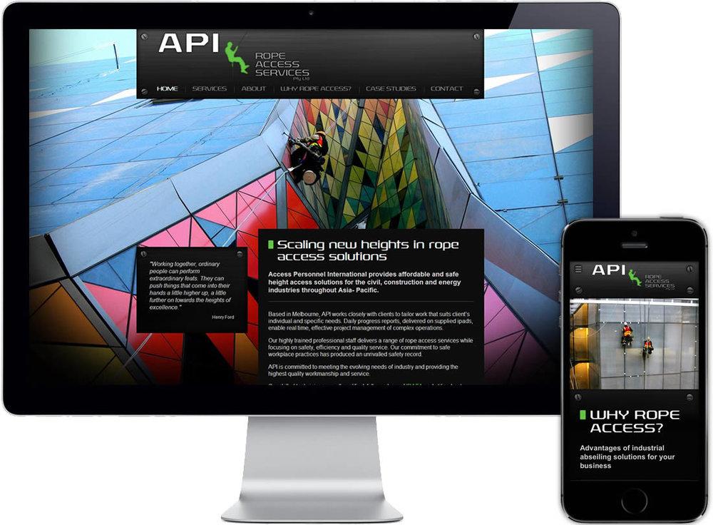 API Access Personnel International Website