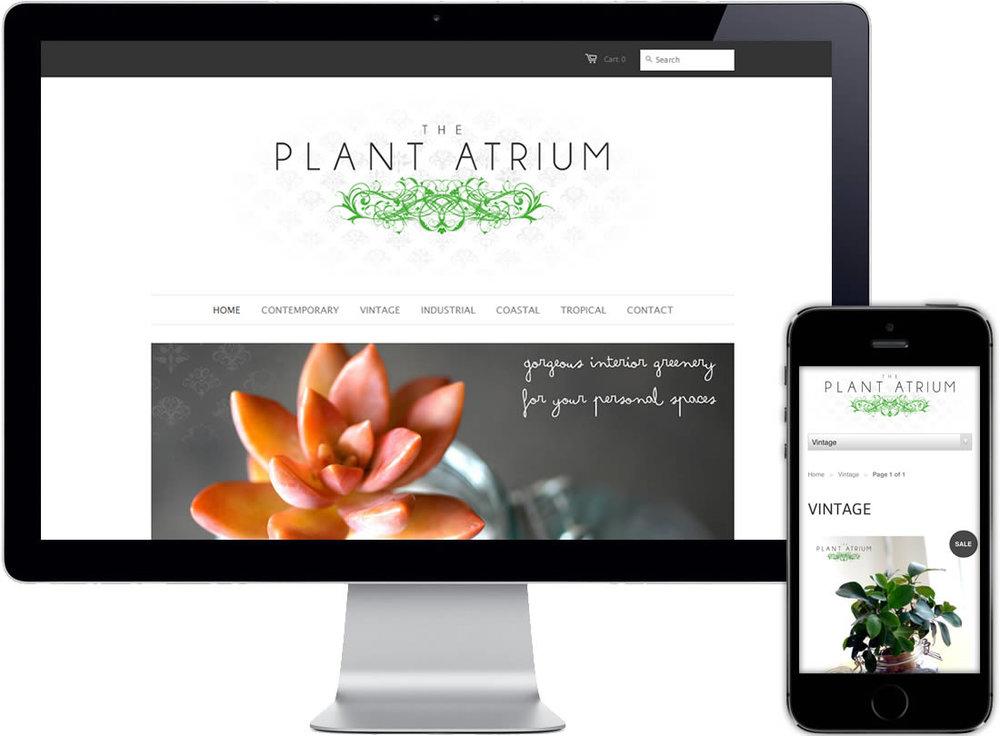 The Plant Atrium Website