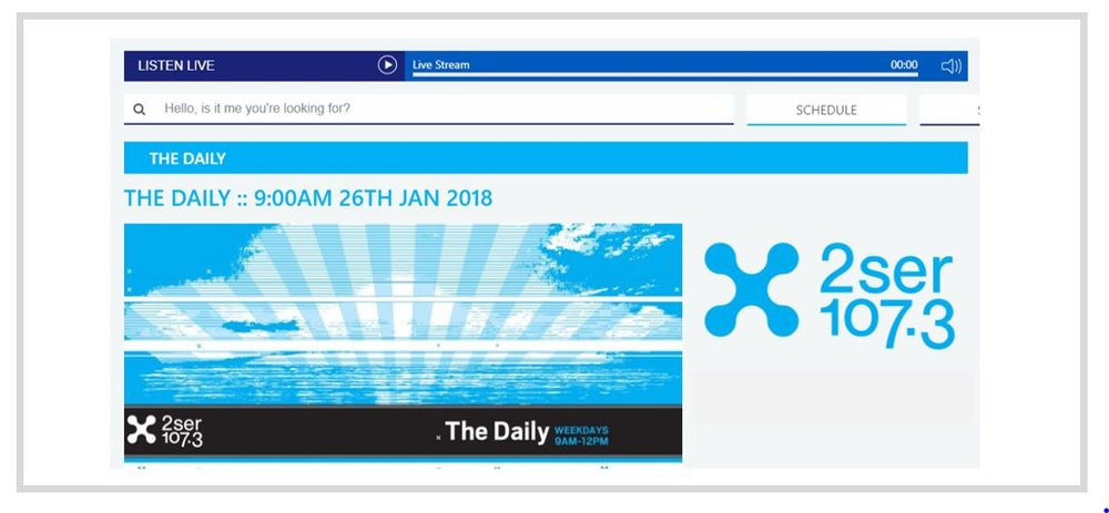 Interview on The Daily with Sean Britten.  Radio 2SER 107.3  (Sydney, Australia). January 26, 2018.  Topic:  What is a DNA marketplace with cryptocurrency?