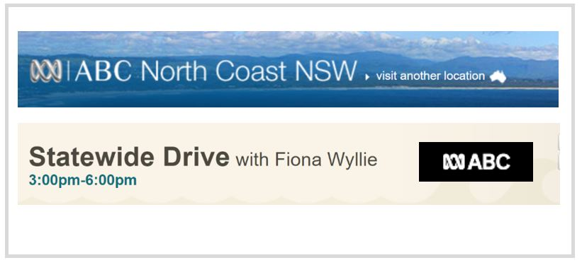 Interview on Statewide Drive with Fiona Wyllie.  ABC Radio New South Wales . (NSW, Australia). February 6, 2018.  Topic:  Direct-to-consumer DNA testing - what are the privacy issues?