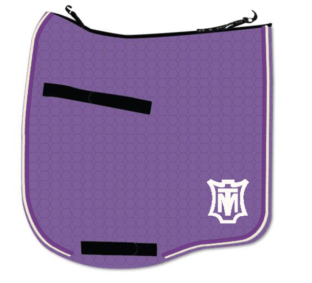 With potentially hundreds of options, this saddle pad will stand out in a crowd!