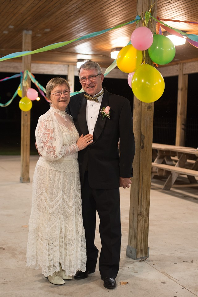Pat and Griff - 50th wedding anniversary