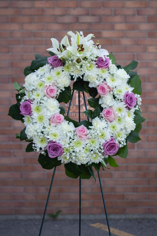 Sympathy Funeral Flowers Blush De Fleur Appleton Florist