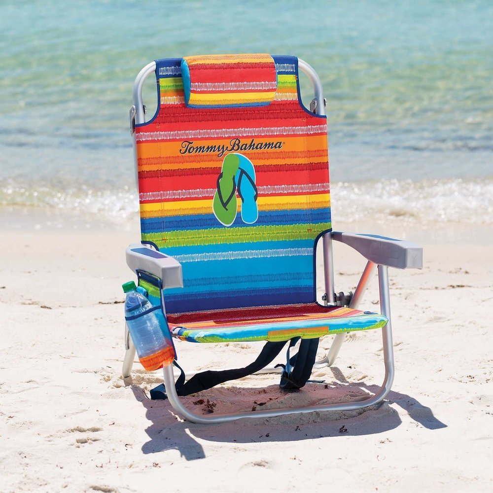 Backpack Beach Chair With Cooler U0026 Storage Pouch Review