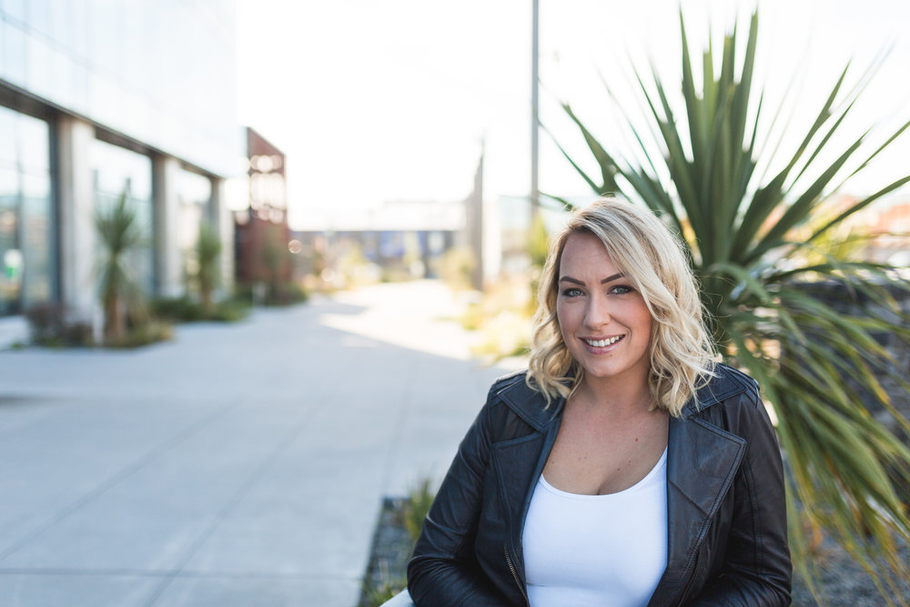 """meet kylie - With the belief that literally anything is possible, Kylie lives by what she preaches. Constantly trying new things, laughing at herself and jumping into things before she is 'ready"""", even though the thought of failure is terrifying.Powered by Coffee, Laughter, and 90s Hip Hop."""