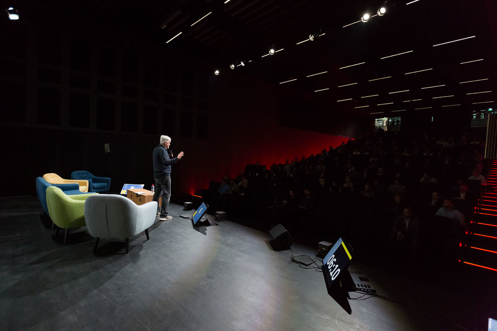KEYNOTE : ORGANIC AI, THE NEW FRONTIER FOR ARTIFICIAL INTELLIGENCE  Bruno  Maisonnier  - Founder of AnotherBrain & mentor of The Robot Of The Year  Photo Svend Andersen