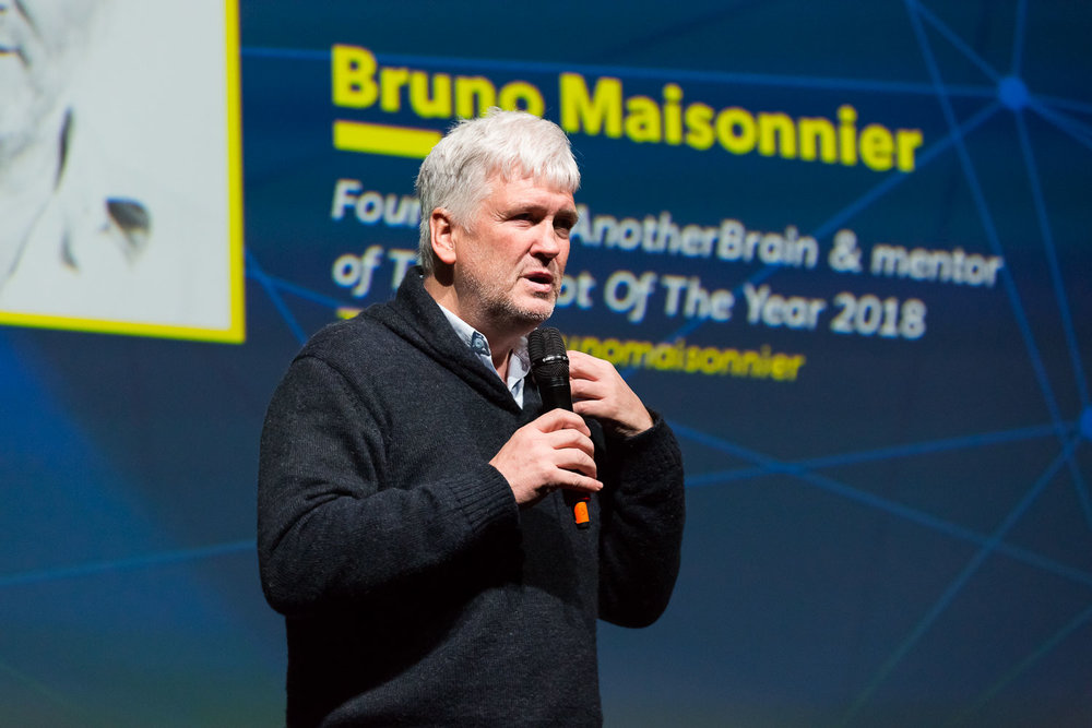 Organic AI, the new frontier for artificial intelligence.  Bruno Maisonnier - Founder of AnotherBrain & mentor of The Robot Of The Year