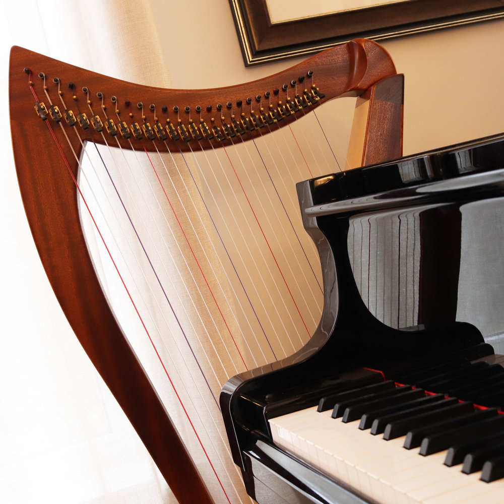 Independent private Music Teaching studio - Music Discoveries is an independent home-based private studio. We have a beautiful, relaxing space for piano and harp lessons.