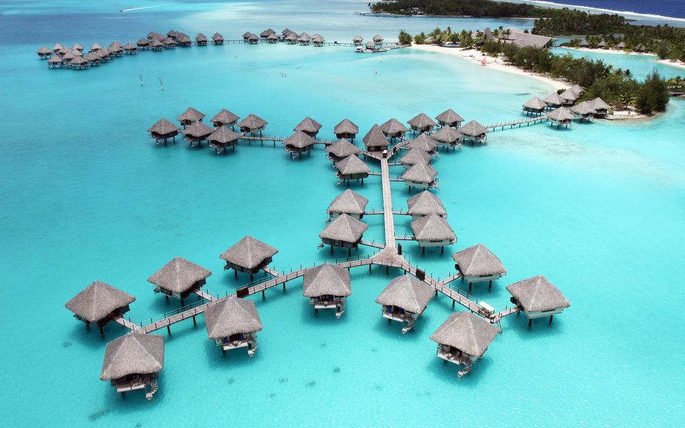 Bora Bora    - view -