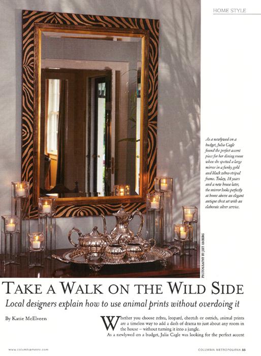 Take a Walk on the Wild Side Columbia Metropolitan 2012
