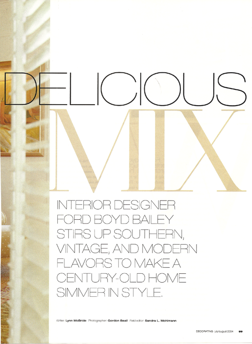 Delicious Mix Decorating Magazine 2004