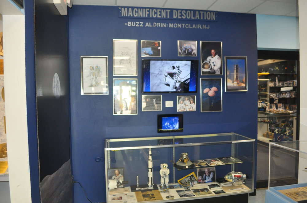 BUZZ ALDRIN DISPLAY