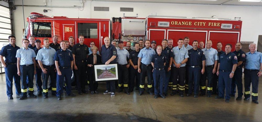 Auch dieses Jahr sind wieder Kameraden der Feuerwehren aus Leipzig und Dresden zum Austausch nach Kalifornien, USA gereist.