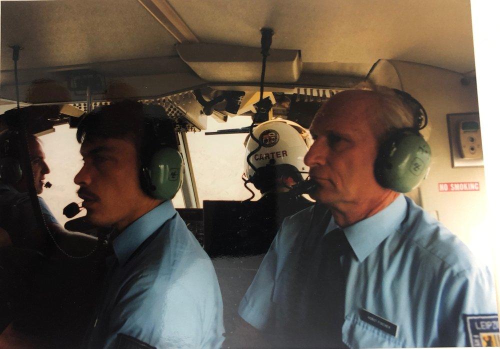 Rundflug mit dem Feuerwehrhubschrauber