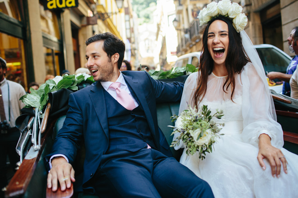 SAN SEBASTIAN WEDDING: CLARA &ASSADOLLAH